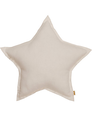 Numero 74 Star Cushion Small -  Natural - S000 Cushions