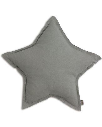 Numero 74 Star Cushion Small - Silver Grey Cushions