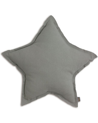 Numero 74 Star Cushion Small - Silver Grey - S019 Cushions