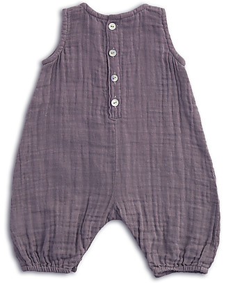 Numero 74 Stef Combi Baby One Piece, Dusty Lilac - 100% cotton (3-6 months) Dungarees