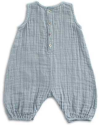 Numero 74 Stef Combi Baby One Piece, Sweet Blue - 100% cotton (3-6 months) Dungarees