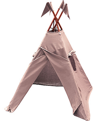 Numero 74 Tipi Tent, Dusty Pink – 100% Thai Cotton   Tepees & Tents