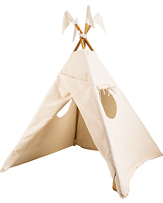 Numero 74 Tipi Tent, Natural – 100% Thai Cotton   Tepees & Tents