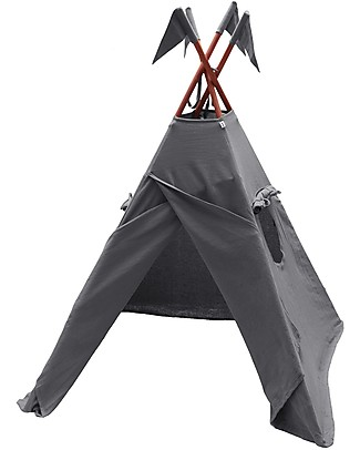 Numero 74 Tipi Tent, Stone Grey – 100% Thai Cotton   Tepees & Tents