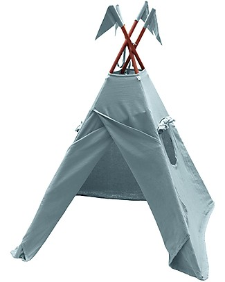 Numero 74 Tipi Tent, Sweet Blue – 100% Thai Cotton   Tepees & Tents