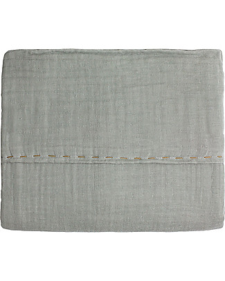 Numero 74 Top Flat Bed Sheet, Silver Grey – 110x170 c Bed Sheets