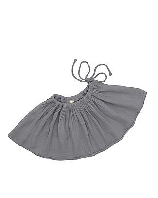 Numero 74 Tutu Mini Skirt, Stone Grey - 3/5 years - 100% organic cotton Skirts