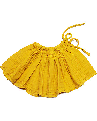 Numero 74 Tutu Mini Skirt, Sunflower Yellow - 100% cotton Skirts
