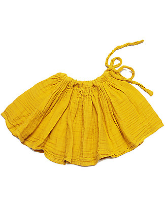 Numero 74 Tutu Mini Skirt, Sunflower Yellow - 100% cotton Skirts