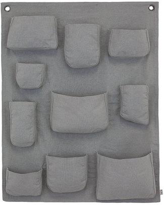 Numero 74 Wall pocket - Silver Gray - Cotton Toy Storage Boxes
