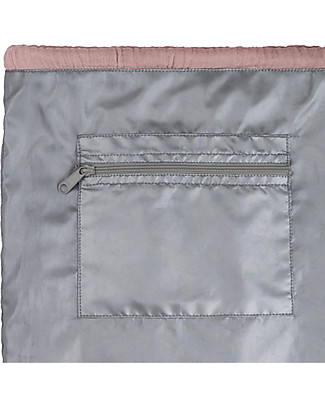 """Numero 74 Waterproof Drawstring Bag """"Nomad Gymsack"""", Dusty Pink - Organic cotton Small Backpacks"""