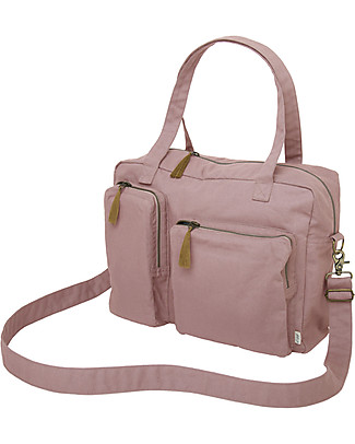 Numero 74 Waterproof Multipurpose Bag, Dusty Pink - Organic cotton Large Backpacks