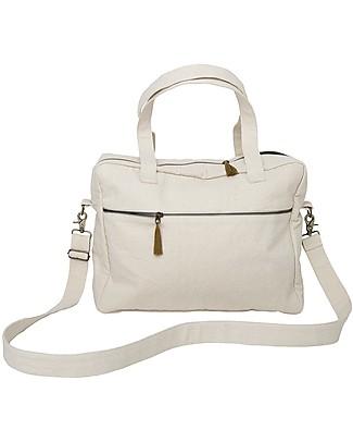 Numero 74 Waterproof Multipurpose Bag, Natural - Organic cotton Large Backpacks