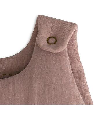 Numero 74 Winter Sleeping Bag 6-12 months, Dusty Pink - 100% Cotton Light Sleeping Bags