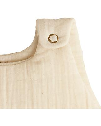 Numero 74 Winter Sleeping Bag 6-12 months, Natural - 100% Cotton Light Sleeping Bags