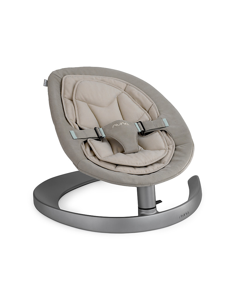 Nuna LEAF™ Curv Rocking Seat Mink - Organic Cotton Quilting Quiet and Natural! Chairs  sc 1 st  Family Nation & Nuna LEAF™ Curv Rocking Seat Mink - Organic Cotton Quilting Quiet ...