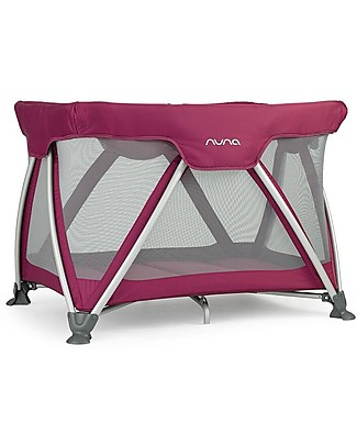 Nuna SENA™ Travel Cot -  Berry, Easy to Open & Close!  Travel Cots