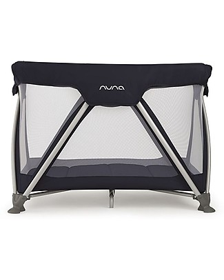 Nuna SENA™ Travel Cot -  Indigo, Easy to Open & Close!  Travel Cots