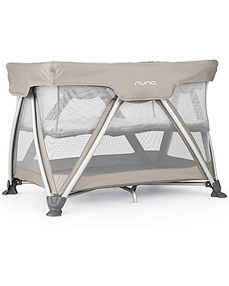 Nuna SENA™ Travel Cot -  Safari Easy to Open & Close!  Travel Cots