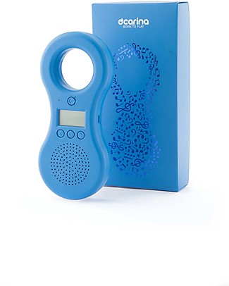 Ocarina Ocarina Baby/Kids MP3 Player 4GB - Blue (with built-in speaker) - New Model with 41 tracks! - MADE IN ITALY Mp3 Players
