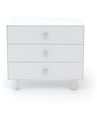 Oeuf Classic Merlin 3 Draw Dresser - Total White Dressers