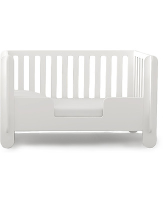 Oeuf Elephant Conversion Kit, White – From crib to toddler bed (140 x 70) Cots & Cotbeds