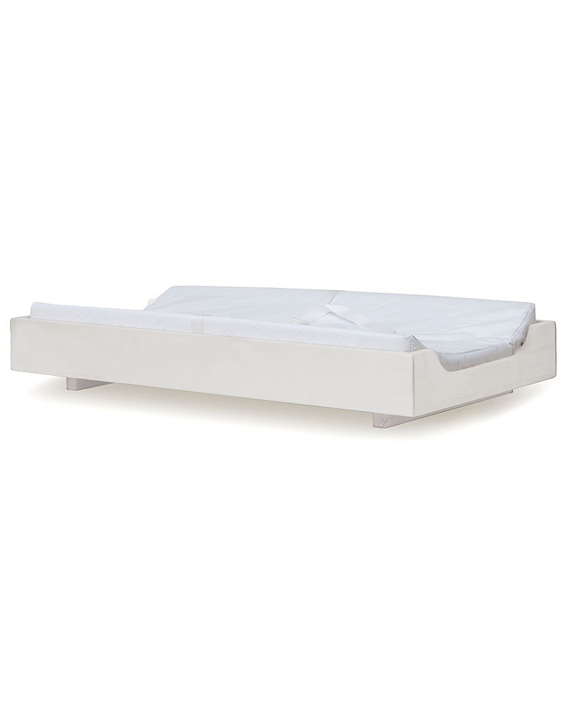 oeuf oeuf changing station with mat  white matte unisex (bambini) - oeuf oeuf changing station with mat  white matte changing tables