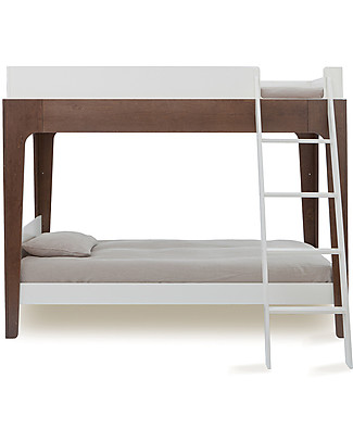 Oeuf OUTLET - Perch Adjustable Wooden Bunk Beds - Walnut Bunk Beds