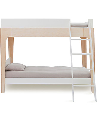 Oeuf Perch Adjustable Wooden Bunk Beds - Birch Bunk Beds