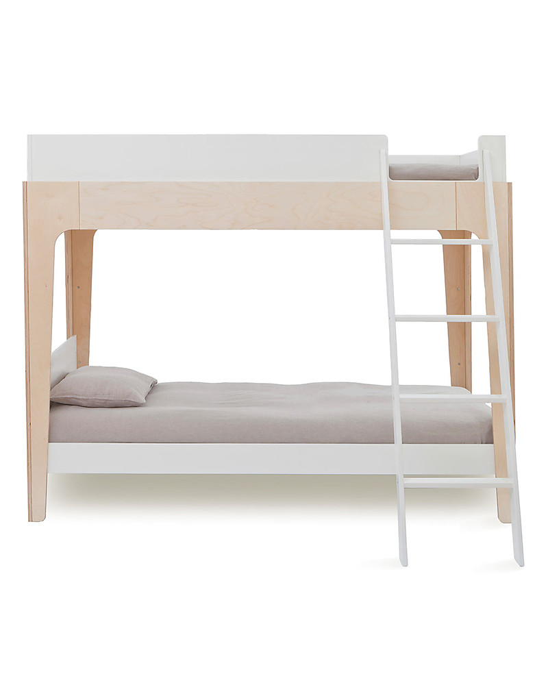 Oeuf Perch Adjustable Wooden Bunk Beds Birch Unisex Bambini