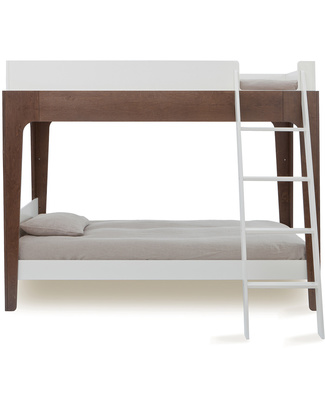 Oeuf Perch Adjustable Wooden Bunk Beds - Walnut Bunk Beds