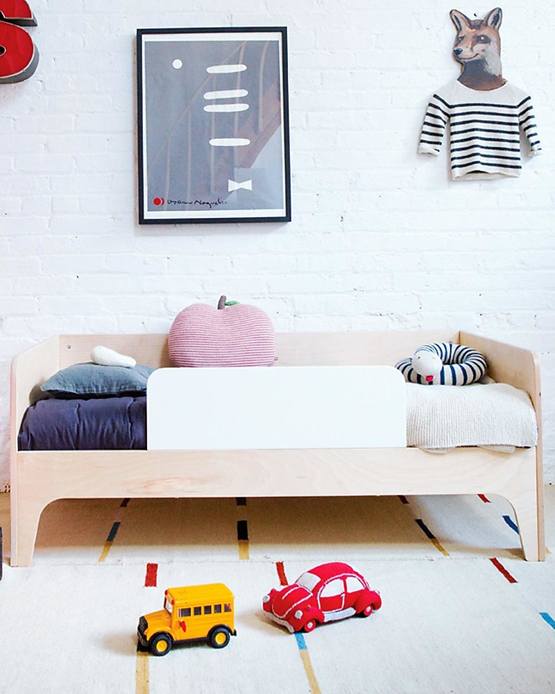Oeuf Perch Toddler Bed White Birch Single
