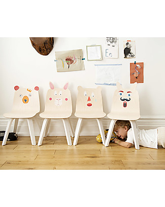 Oeuf Play Stickers - Repositionable Stickers - They Combine with the Play Chairs Wall Stickers