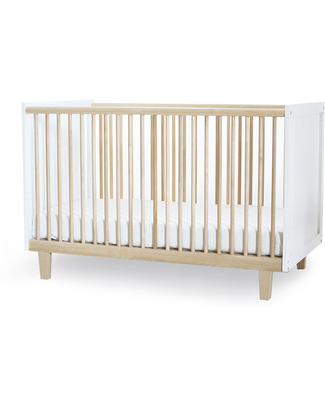 Oeuf Rhea Crib - Birch (converts into Rhea Toddler Bed) Cots & Cotbeds