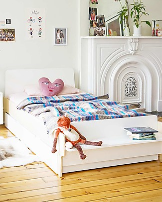Oeuf River Twin Bed - Birch Single Bed