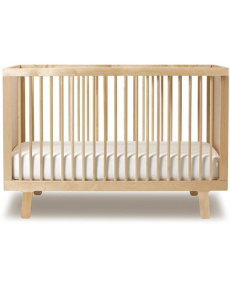 Oeuf Sparrow Crib - Birch (converts into Sparrow Toddler Bed) Cots & Cotbeds