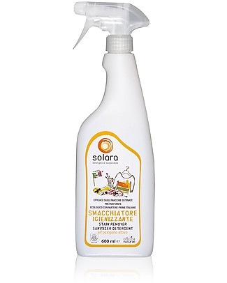 Officina Naturae Eco-friendly Stain Remover Sanitizer Detergent Solara, 600 ml Home Cleaning