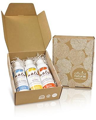 Officina Naturae Gift Box EcoBio Natù - 3 fantastic natural products for the body! Shampoos And Baby Bath Wash