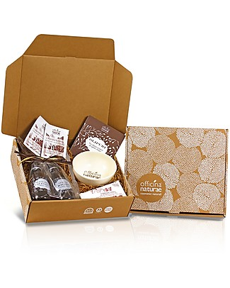 Officina Naturae Gift Box Hands Wind and Cold - 4 natural products for the beauty of your skin! Body Lotions And Oils