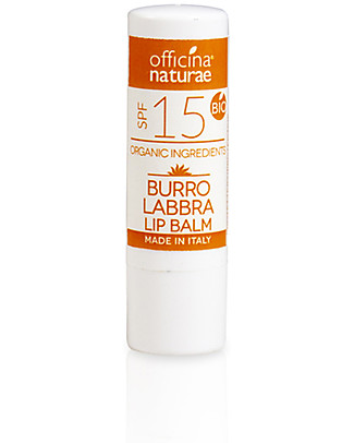 Officina Naturae Lip Balm SPF 15 - Medium Protection Face