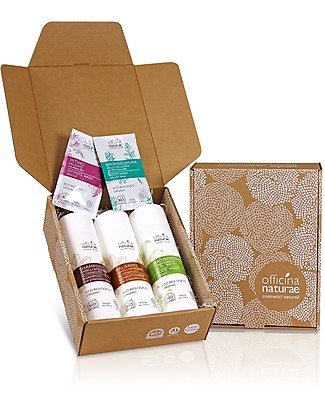 Officina Naturae No Stress Gift Box - 3 fantastic natural product for body and hair! Shampoos And Bath Wash