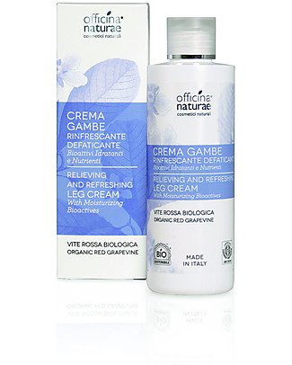 Officina Naturae Organic Red Grapevine Legs Cream, 200 ml - Relieving and refreshing Body Lotions And Oils
