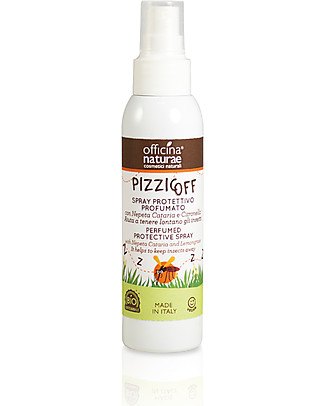 Officina Naturae Pizzicoff, Protective Scented Spray, 100 ml Mosquito Repellant