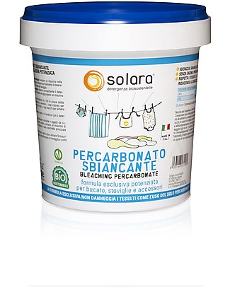Officina Naturae Solara Bleaching Percarbonate, 1 kg - New Exclusive Formula Home Cleaning