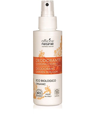 Officina Naturae Spray Deodorant Eco Bio, Garden in Bloom - 100 ml Deodorant