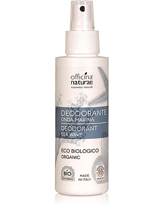 Officina Naturae Spray Deodorant Eco Bio, Sea Wave - 100 ml Deodorant