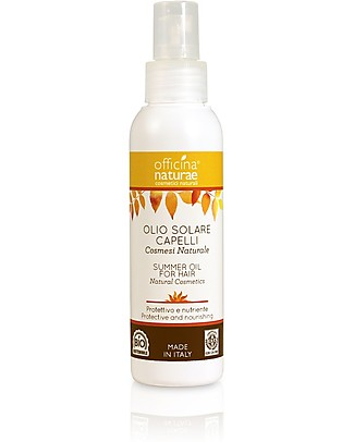 Officina Naturae Summer Oil for Hair, Protective and Nourishing - 100 ml Hair Care