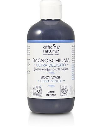 Officina Naturae Ultra Gentle Body Wash No Parfum, 250 ml - Sulphates free! Shampoos And Bath Wash