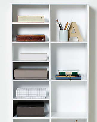 Oliver Furniture Extra Shelves for Shelving Unit from the Wood range, 5 pieces  Shelves