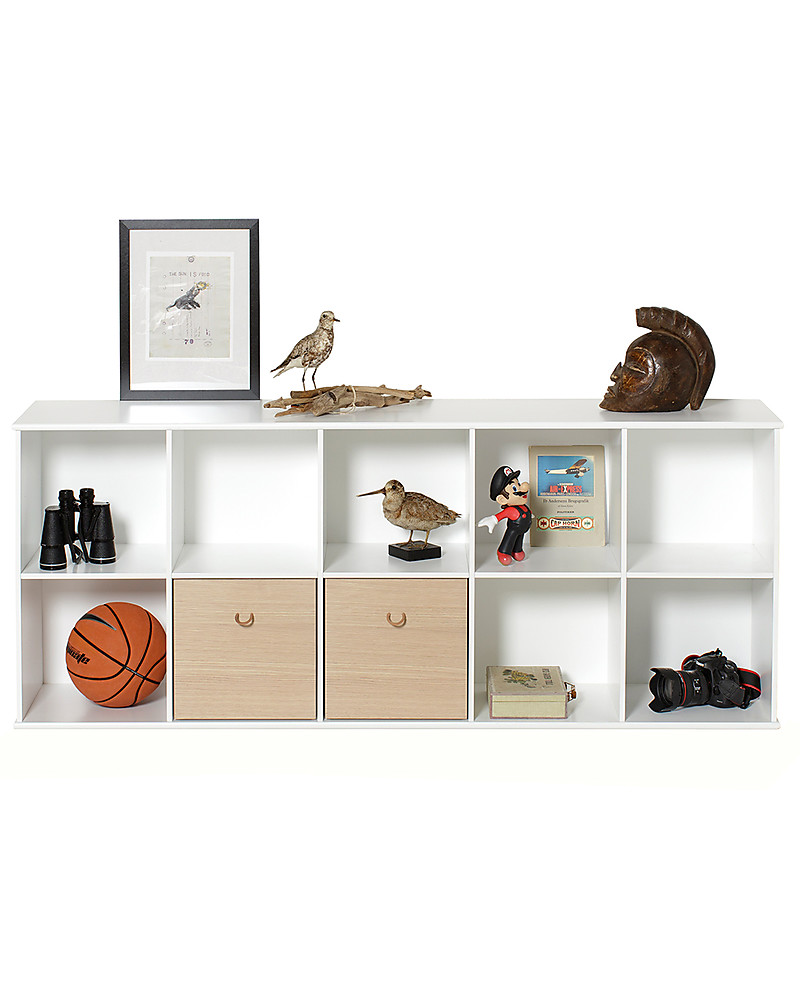 Oliver Furniture Horizontal Shelving Unit With Support 5x2, Wood Range U2013 To  Hang On The